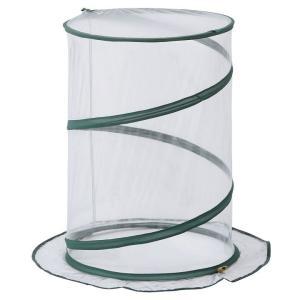 ポップアップ式温室 ラウンド ビニール:クリア GRH-15 タカショー  簡易 ミニ 小型 温室(D)|petkan