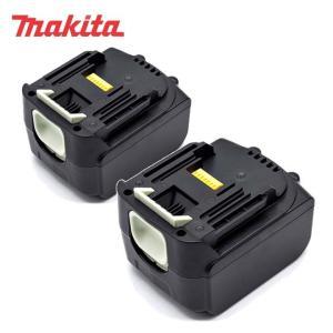 マキタ 工具用互換バッテリー 14.4V 3.0Ah 2個セ...