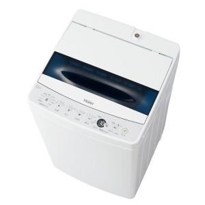 洗濯機 一人暮らし 5kg 全自動洗濯機 新品 安い 縦型 全自動 5.5kg W JW-C55D(W) ハイアールの画像