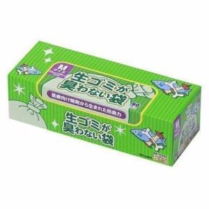 臭わない袋BOS生ゴミ用箱型 (Mサイズ90枚入)   クリロン化成 (D)