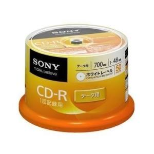 ソニー CD-R スピンドル 50枚 50CDQ80GPWP