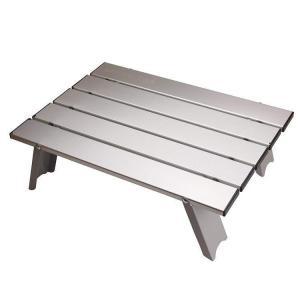 アルミロールテーブル コンパクト M-3713 パール金属 (D)