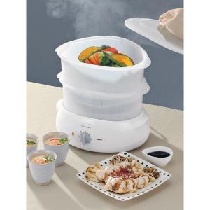 フードスチーマー ツインバード 電気蒸し器 蒸し料理 レシピ付き SP-4138W