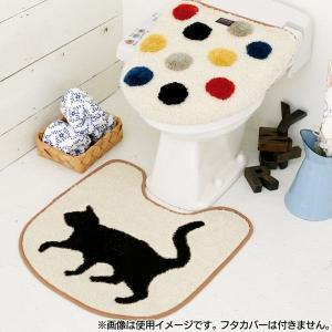 トイレマット Katze カッツェ FL-9619|petkan