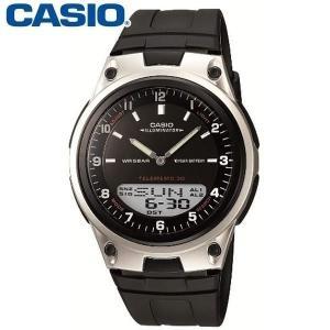 CASIO(カシオ) メンズ アナデジ(アナログ・デジタル)腕時計 AW-80-1AJF ●サイズ(...