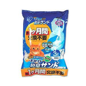 ネコ砂 1週間取り替えいらずネコトイレ専用脱臭サンド TIA-3L アイリスオーヤマの画像