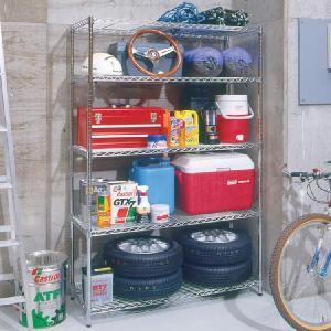 メタルラック スチールラック ラック 5段 業務用 安い  オフィス収納 本棚 家具 什器 オープンラック 幅120cm MR-1218J アイリスオーヤマ(あすつく)|petkan|03