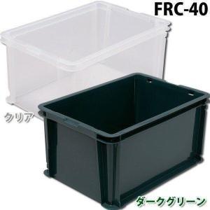 コンテナボックス ラックコンテナ FRC-40 アイリスオーヤマ プラコンテナボックス 収納ボックス 書類収納|petkan