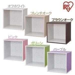 (在庫処分特価!)デザインカラーキュビック DCQB-35 アイリスオーヤマ カラーボックス キューブボックス BOX|petkan