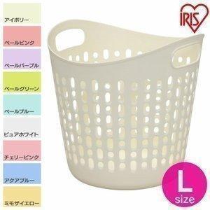 ソフトバスケット ランドリーバスケット 洗濯かご Lサイズ SBK-460 アイリスオーヤマ petkan