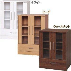 食器棚 木製ガラスキャビネット RF-9060G アイリスオーヤマ