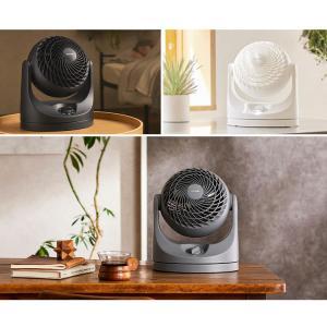 サーキュレーター 首振り 8畳 静音 コンパクト アイリスオーヤマ PCF-HD15-W・PCF-HD15-B 扇風機 ファン 家庭用|petkan|04