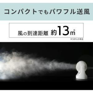サーキュレーター 首振り 8畳 静音 コンパクト アイリスオーヤマ PCF-HD15-W・PCF-HD15-B 扇風機 ファン 家庭用(あすつく)|petkan|07