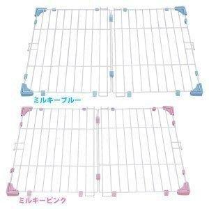 屋根 ケージ 犬用 システムサークル アイリスオーヤマ(あすつく)|petkan