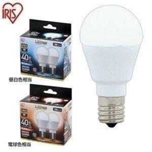 LED電球 E17 広配光タイプ 40W形相当 LDA4N-G-E17-4T52P LDA4L-G-E17-4T52P 2個セット アイリスオーヤマ