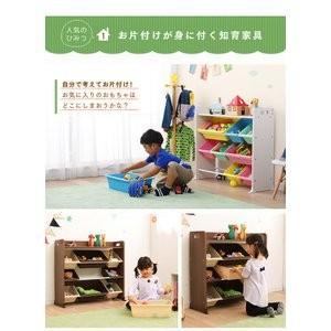 天板付きトイハウスラック おもちゃ 収納 こども おもちゃ箱 子供部屋収納 人気 トイハウスラック お片付け|petkan|02