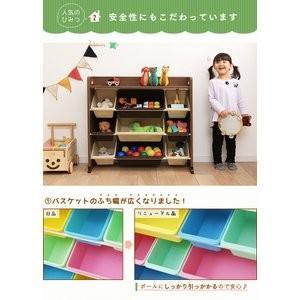 天板付きトイハウスラック おもちゃ 収納 こども おもちゃ箱 子供部屋収納 人気 トイハウスラック お片付け|petkan|04