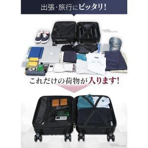 スーツケース KD-SCK 機内持ち込み可 キャリーバッグ キャリーケース 軽量 旅行カバン 40L TSAロック|petkan|02