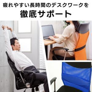 オフィスチェア 肘付 オフィス パソコンチェア 椅子 イス メッシュバックチェアハイバック メッシュバックチェアー petkan 02