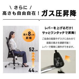 オフィスチェア 肘付 オフィス パソコンチェア 椅子 イス メッシュバックチェアハイバック メッシュバックチェアー petkan 16