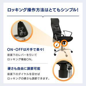 オフィスチェア 肘付 オフィス パソコンチェア 椅子 イス メッシュバックチェアハイバック メッシュバックチェアー petkan 10