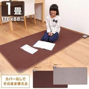 そのまま使えるホットカーペット 1畳 WHC-102KPL ワタナベ工業 (D)