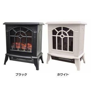 ファンヒーター おしゃれ 暖炉型ファンヒーター 暖炉 VS-HF5200BK ベルソス (D)(B) megastore PayPayモール店