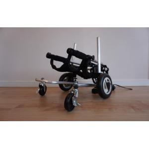 車椅子用 補助輪 オプション - サイズ: XL用|petlab|03