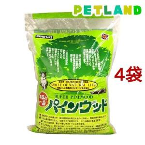 猫砂 パインウッド ( 6L*4コセット )|petland