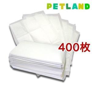 国産ペットシーツ ワイド 薄型プラス ( 100枚入*4コセット )/ オリジナル ペットシーツ|petland