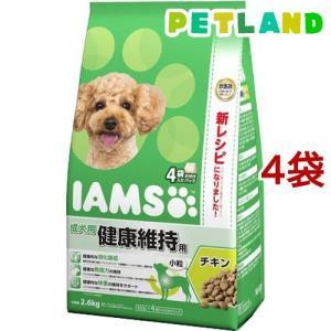 アイムス 成犬用 健康維持用 チキン 小粒 ( 2.6kg*4コセット )/ アイムス ( ドッグフード )|petland