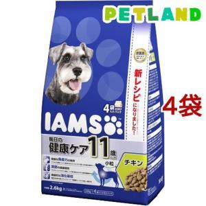 アイムス 11歳以上用 毎日の健康ケア チキン 小粒 ( 2.6kg*4コセット )/ アイムス ( ドッグフード )|petland