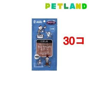 グルーミー ねこちゃんのおやつ にぼし味 ( 20g*30コセット )/ グルーミー petland