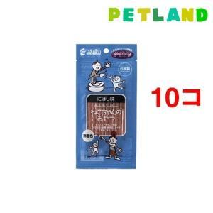 グルーミー ねこちゃんのおやつ にぼし味 ( 20g*10コセット )/ グルーミー petland