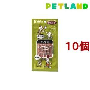 グルーミー ねこちゃんのおやつ かつお味 ( 20g*10コセット )/ グルーミー petland
