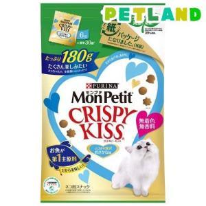 モンプチ クリスピーキッス とびきり贅沢おさかな味 ( 180g )/ モンプチ|petland