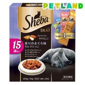シーバ デュオ 15歳以上 香りのまぐろ味セレクション ( 200g )/ シーバ(Sheba)