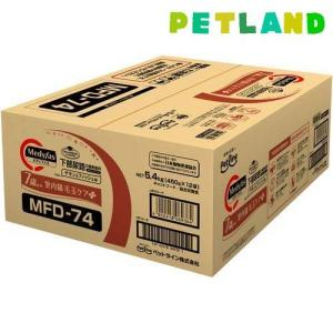 メディファス 室内猫 毛玉ケアプラス 7歳から チキン&フィッシュ味 ( 450g*12袋 )/ メディファス ( キャットフード )|petland