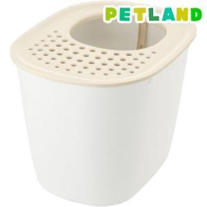 リッチェル ラプレ 砂取りネコトイレ ホワイト ( 1個 )/ リッチェル(ペット)|petland