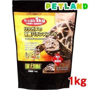 エキゾテラ リクガメの栄養バランスフード ( 1kg )/ エキゾテラ|petland
