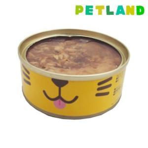 ねこ缶 まぐろのゼリー仕立て ( 70g )/ オリジナル ペットフード ( 猫缶 猫 ウェット キャットフード )