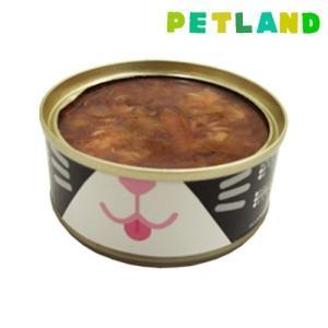 ねこ缶 まぐろのゼリー仕立て かつお節のせ ( 70g )/ オリジナル ペットフード ( 猫缶 猫 ウェット キャットフード )