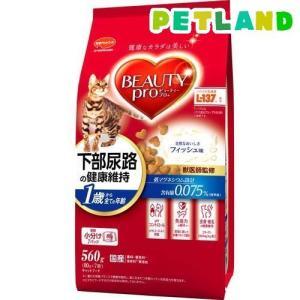 ビューティープロ 猫下部尿路の健康維持 1歳から10歳まで ( 140g*4袋入 )/ ビューティープロ ( キャットフード ドライ 国産 無着色 )