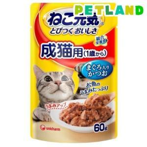 ねこ元気 総合栄養食 パウチ 成猫用(1歳から...の関連商品6
