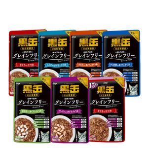 黒缶 パウチ 70g×12個入 11種類から選べる|petland