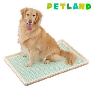 ボンビアルコン しつけるトレー メッシュ ( XLサイズ )/ しつけるトレー ( 犬 トイレ トレー ペット用品 )
