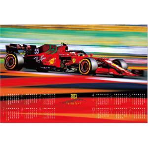 カレンダー F1レースカレンダー グランプリ2020 F1グランプリ 不織布カレンダー 特大サイズ 2020年カレンダー  令和2年カレンダー レーシングカー