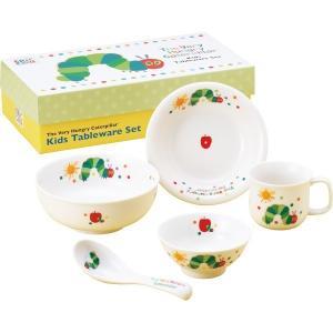 ◆はらぺこあおむし こども食器ギフトセット  【商品内容】 ・茶碗 直径約10.5×高さ4.5cm ...