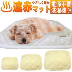 犬 マット 暖かい 冬 防寒 電源不要 光電子マット Мサイズ 約50x60cm ネコポス対応 光電子繊維を使った 犬用マット ビッグウッド 遠赤外線効果 あったかマット petnext