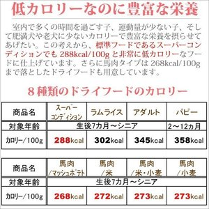銀座ダックスダックス DD ホームメイドドッグフード スーパーコンディション 粒タイプ 1kg petnext 05
